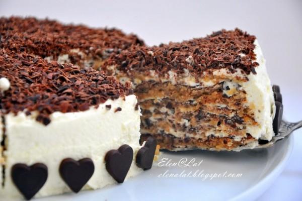 Итальянский ореховый торт. Бесподобный десерт