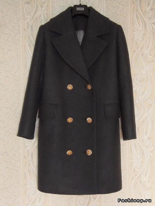 Шъём зимнее пальто, часть 2