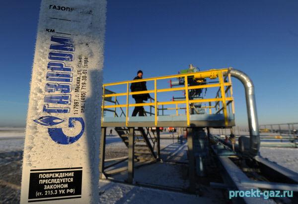 """В прошлом году """"Газпром"""" нарастил добычу на Бованенковском еще на 10%"""