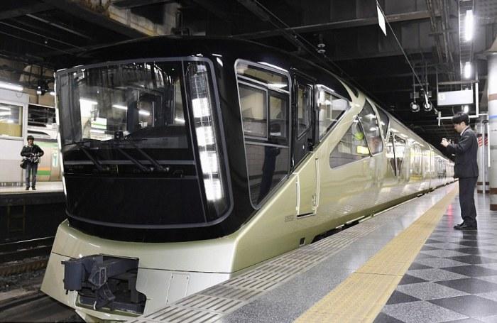 Уникальный японский поезд