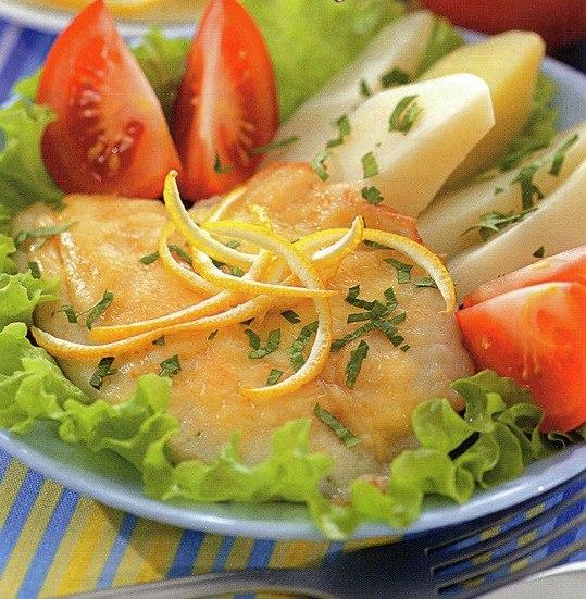 Золотая камбала в сырном соусе /// Вкус у этой рыбки на любителя,но если приправить,то вполне ...=)