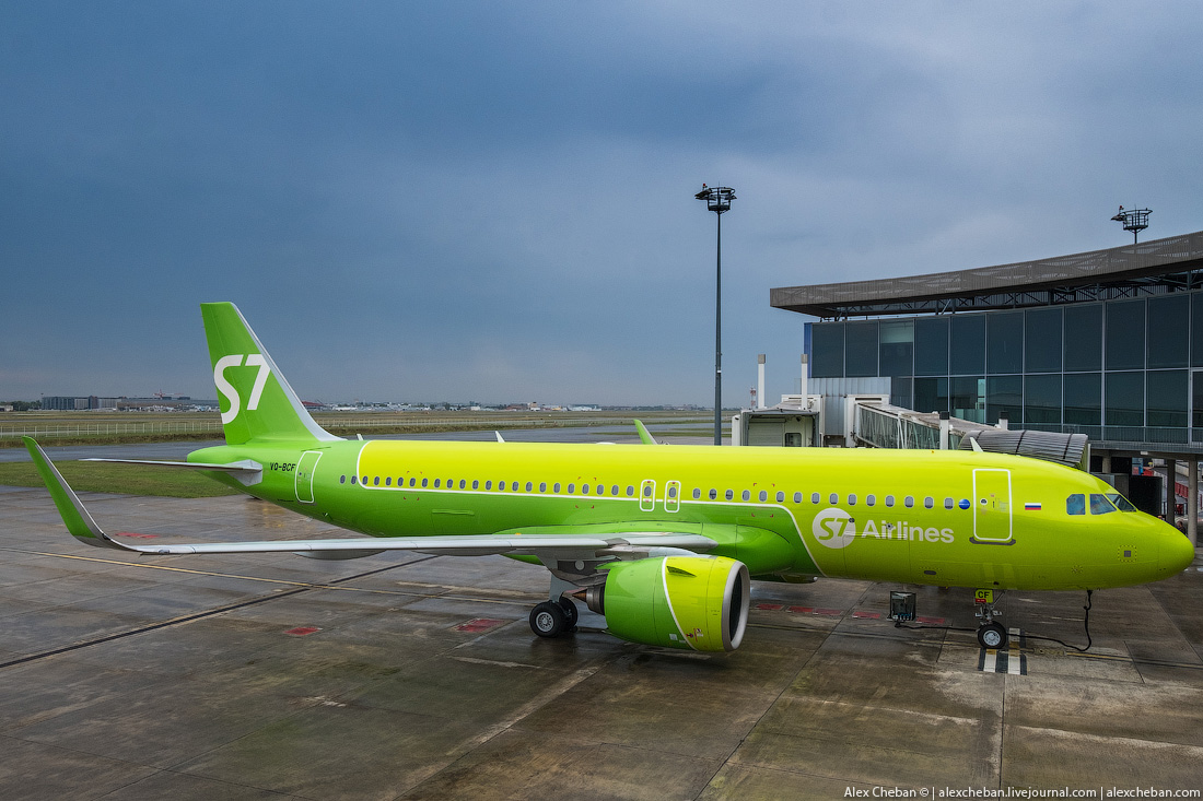 S7 Airlines первой в России пополнила флот самолетом Airbus A320neo