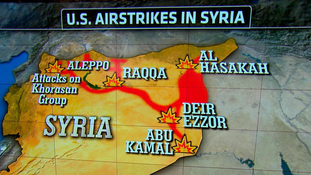 Syrian Twitter user reports U.S. airstrikes 30 minutes before Pentagon