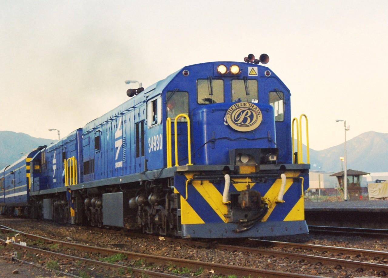 Африка: The Blue Train поезд, путешествия