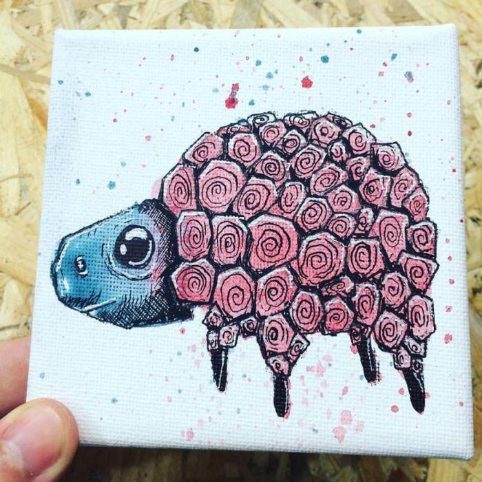 Большая черепаха. Автор: Valentinos Demetriou.