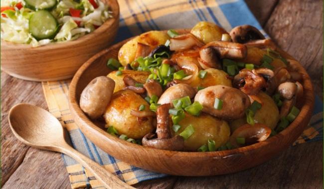 Горячие блюда с грибами рецепты с фото