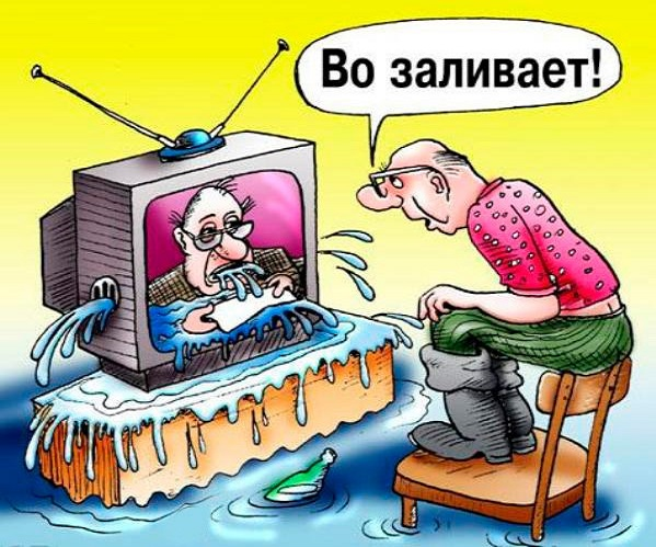 Собачий ящик российского ТВ …