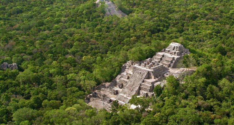 Калакмуль — древний город ма…