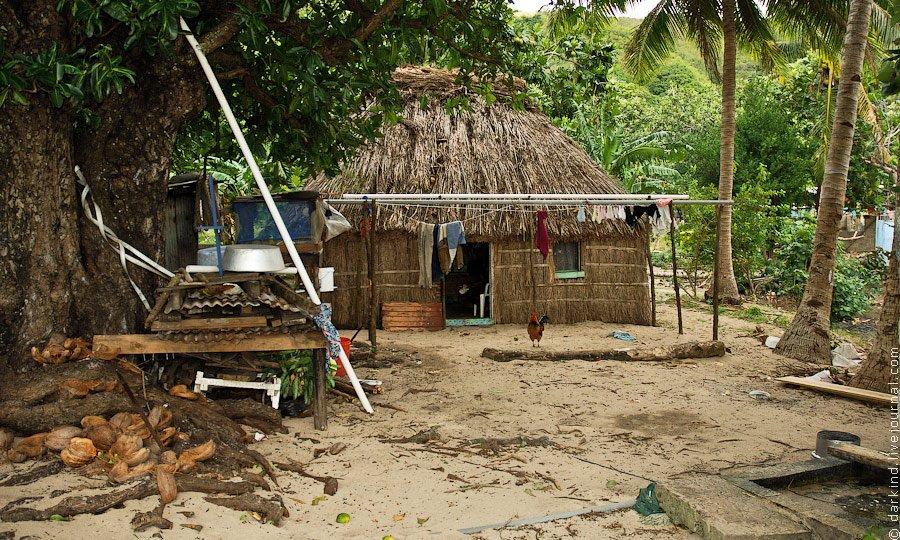 Вышивание на острове