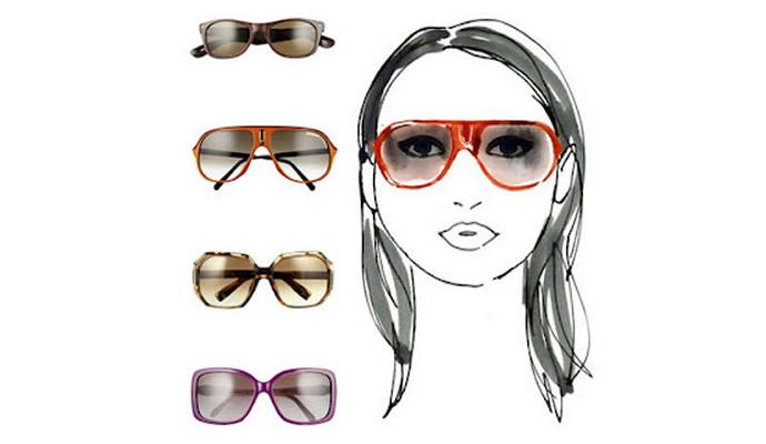 Подбираем солнцезащитные очки по типу лица