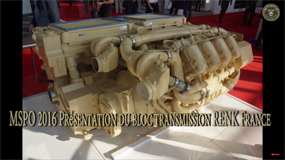 Компания RENK France предлагает свой проект ремоторизации танков семейства Т-72/90