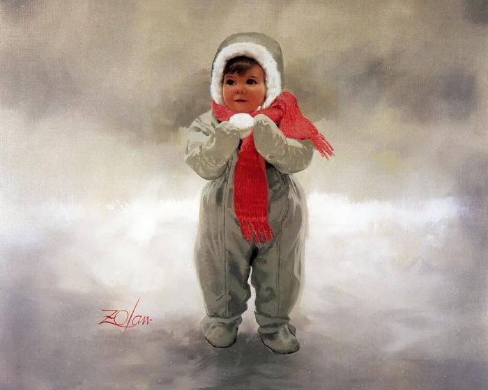 Зимушка - зима. Автор: Donald Zolan.