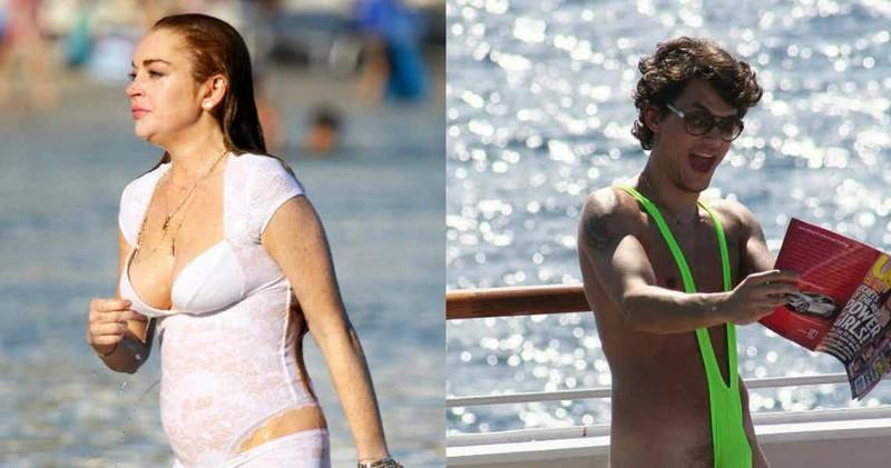 Накиньте полотенце: 15 худших купальных костюмов знаменитостей