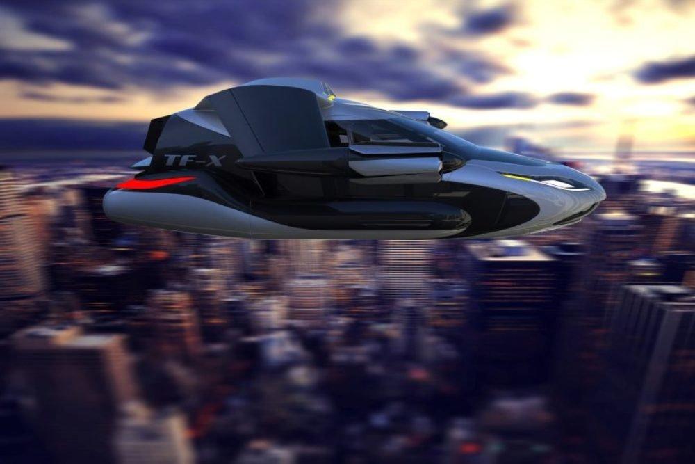 Китайский концерн Geely построит летающий автомобиль уже через два года