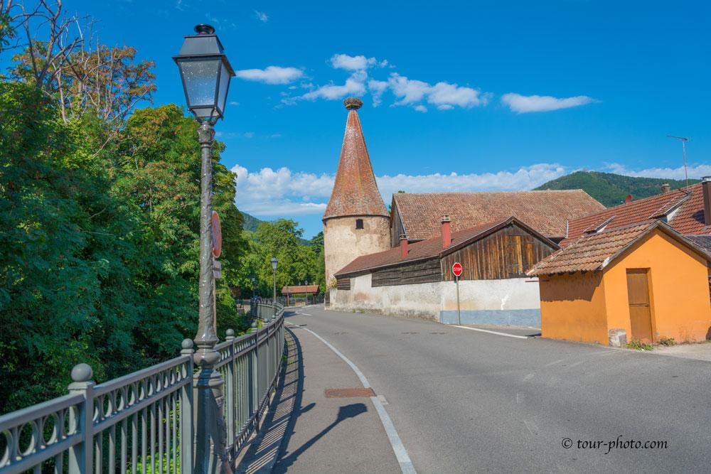 Эльзас. Деревня Рибовилле (Ribeauville)
