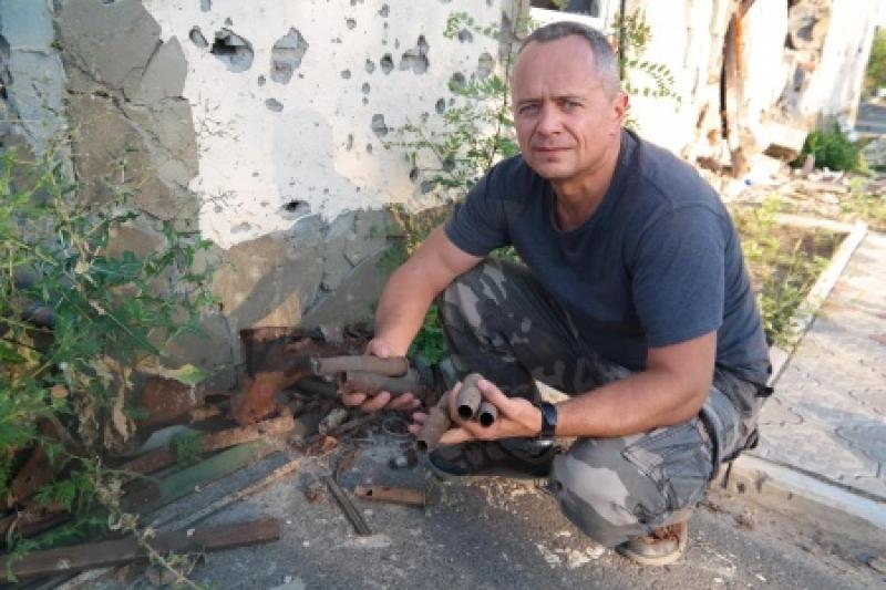 «То что здесь происходит - чудовищно!»: немецкий бизнесмен приехал в Донбасс помогать мирным жителям