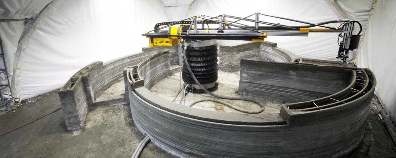 В России впервые напечатали жилой дом на 3D-принтере