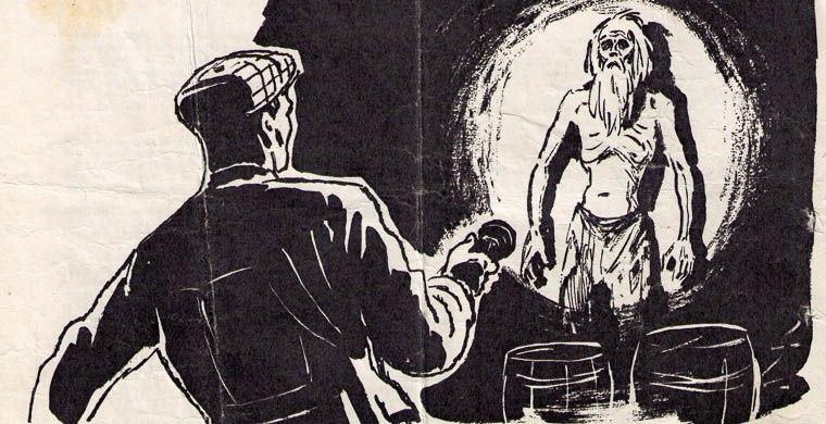 О простом русском солдате, который провел долгих девять лет в подземелье одной из русских крепостей