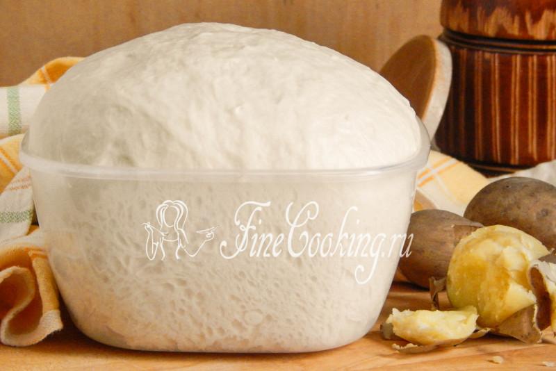 Дрожжевое картофельное тесто