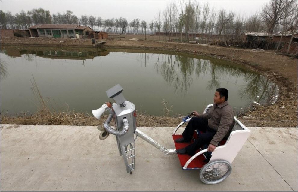 468 47 роботов китайского изобретателя