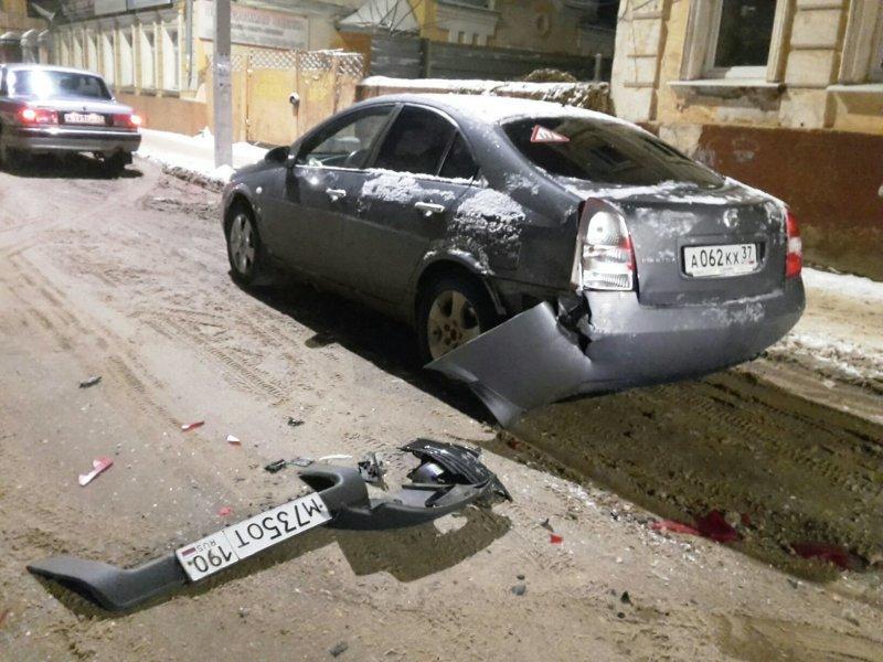 Не очень умный водитель скрылся с места ДТП, оставив улику дтп