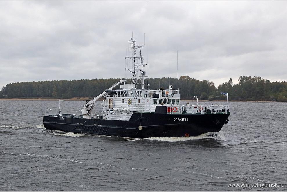 ВМФ России переданы два больших гидрографических катера проекта 19920