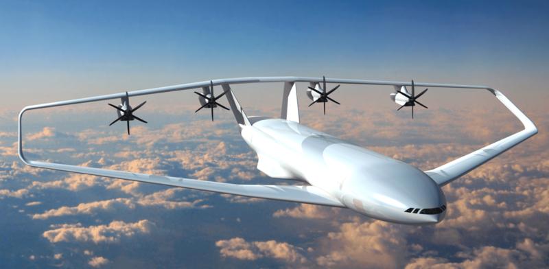 Кольцеплан: самолет с замкнутым контуром крыла