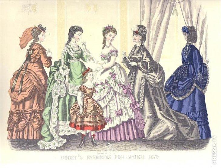 Самые странные тенденции моды в истории