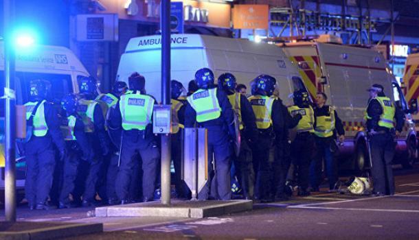 Теракт в Лондоне: появилось видео
