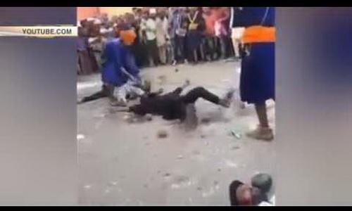Фокусник-неудачник разбил молотом голову добровольцу