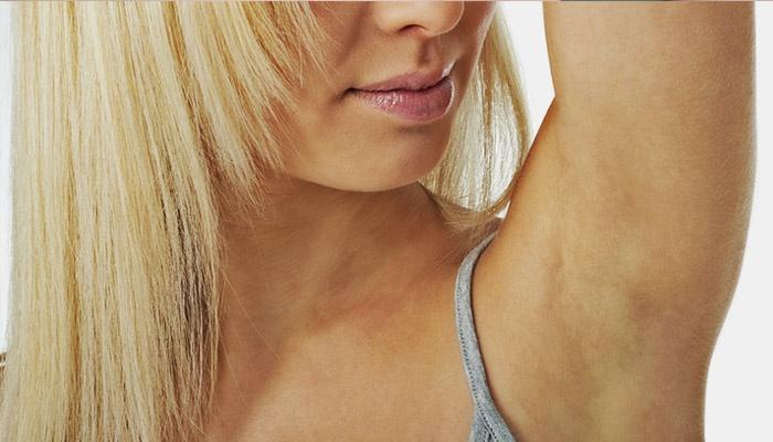 аллергия на дезодорант под мышками что делать