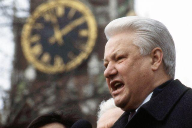 Интервью 20-летней давности. Что сказал Ельцин перед расстрелом Белого дома