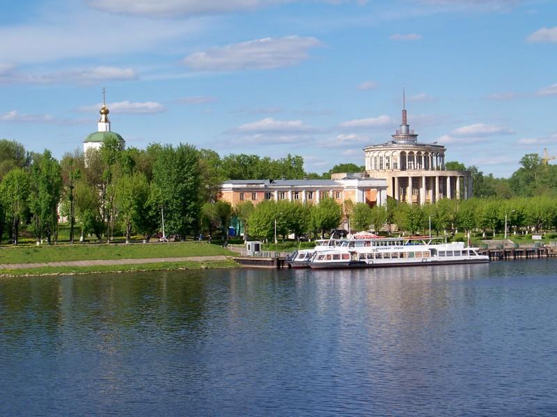 Речной вокзал еще до обрушения летом 2017 г Города России, Тверская область, красивые места, пейзажи, путешествия, россия, тверь