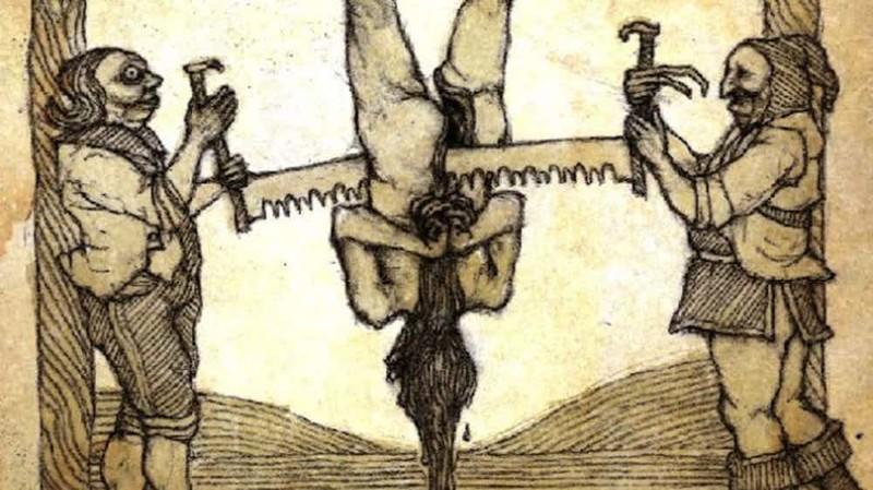 12. Зверские методы пыток Чингисхан, история, факт