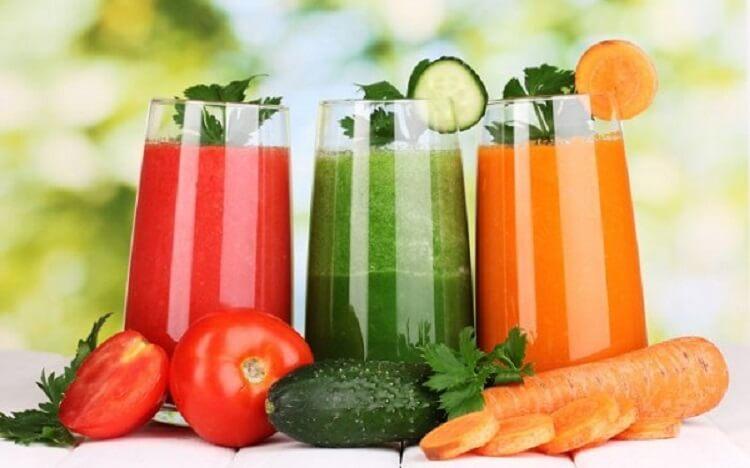 Коктейли для похудения в домашних условиях овощные