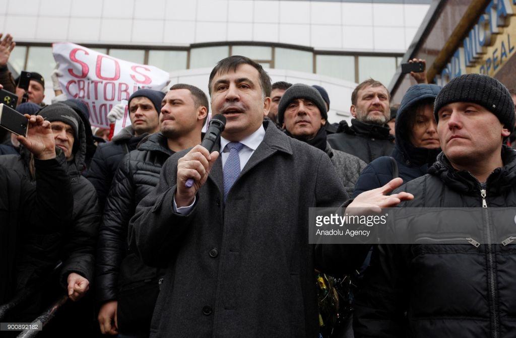 Саакашвили приговорили и хотят посадить.