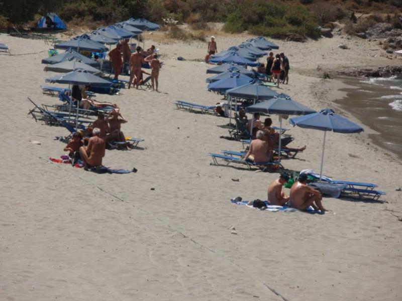 2. Пляж Plakias – Крит, Греция вокруг света, нудисты, пляж