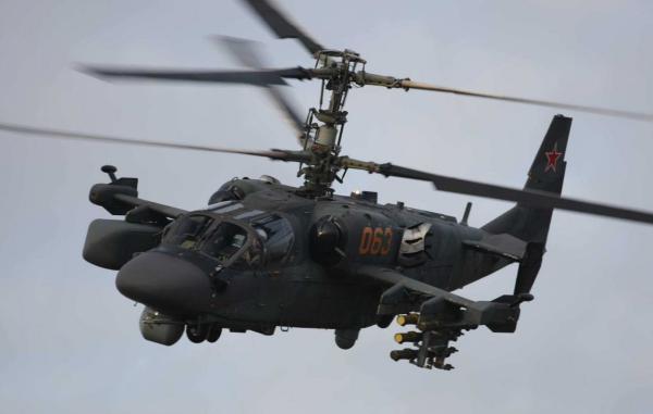 Российский вертолет Ка-52 - Лучший из лучших