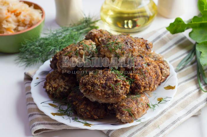 Котлеты с фаршем и квашеной капустой рецепт