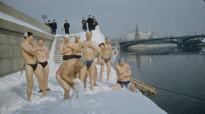 Суровая зима в СССР