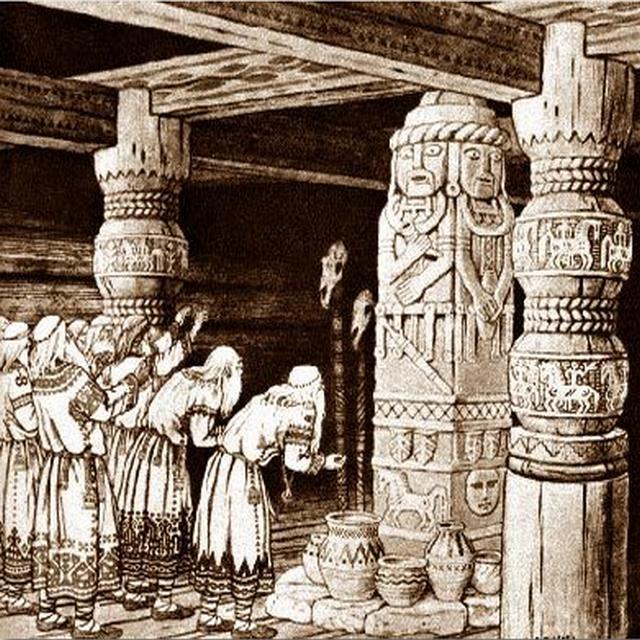 Славянские древности. Перун.