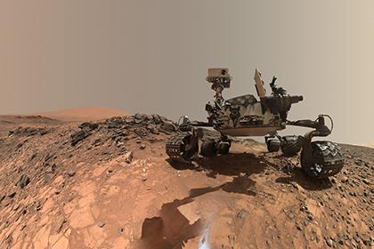 У марсохода Curiosity сломалась дрель