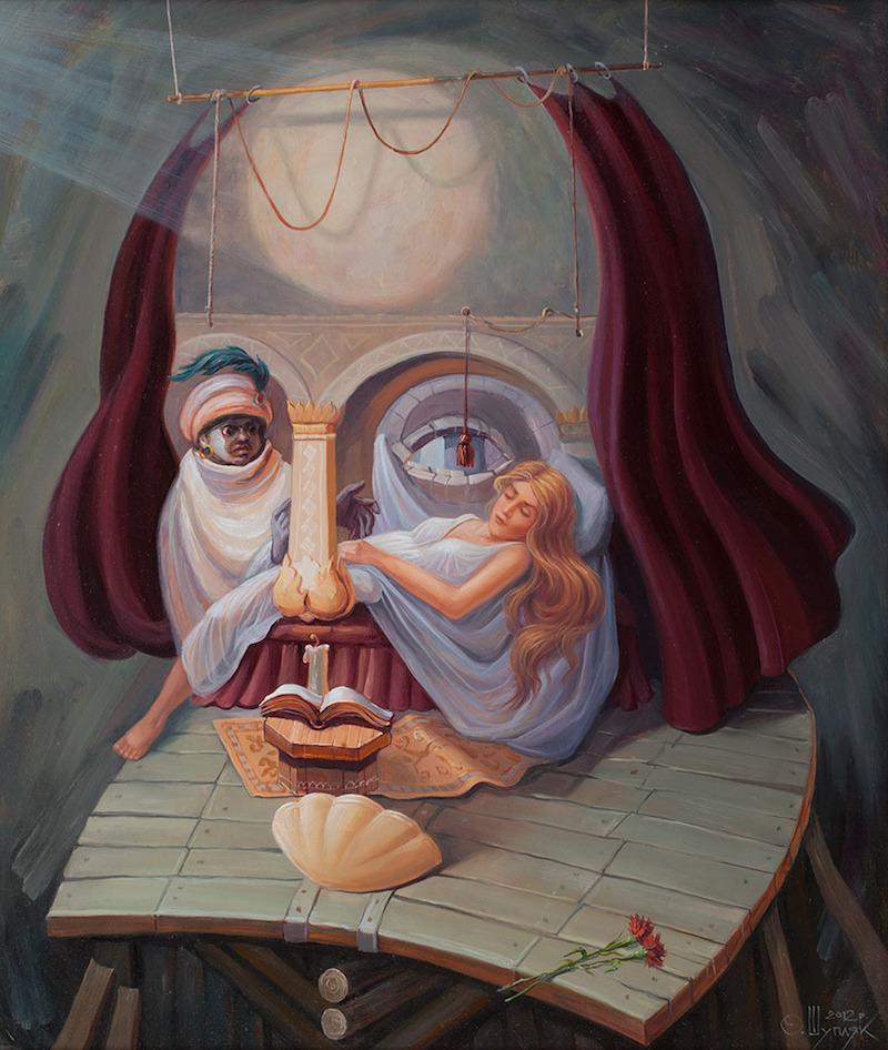 Рассмотреть то, что неочевидно — уникальные картины-иллюзии  художника Олега Шупляка