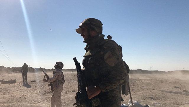Сирийская армия прорвала окружение военной базы под Дамаском