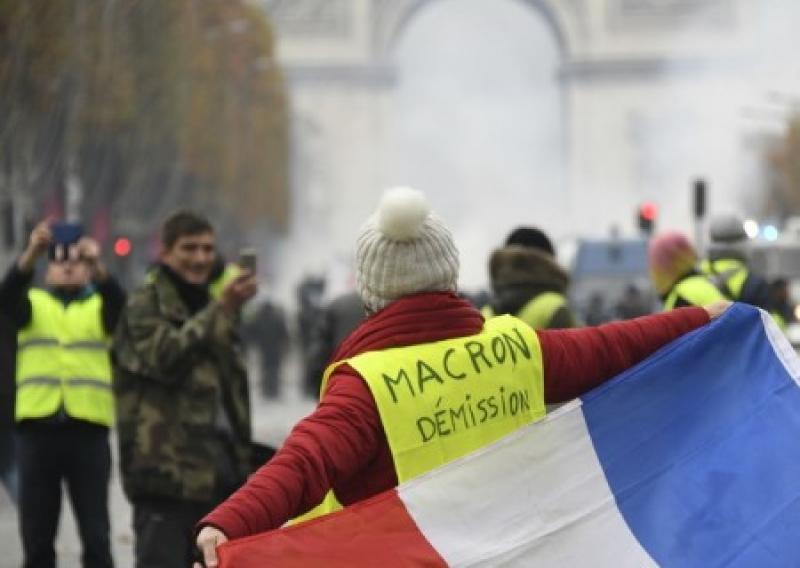 Макрон снова в осаде: протесты «Желтых жилетов» не спадают