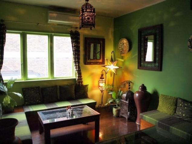 Любителям огненных красок и пышной зелени: Африка и тропические цветы в интерьере