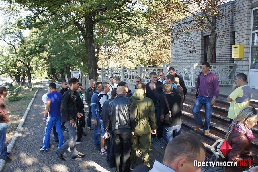 Часть 19-го батальона теробороны самовольно покинули зону АТО и приехали в Николаев: «Не хотим быть пушечным мясом»