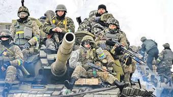 ВСУ бежали в Коминтерново, бросая убитых и вооружение (видео)