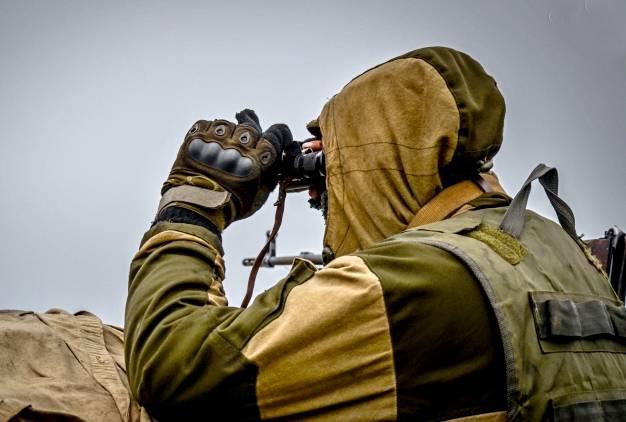 Журналисты побывали на позициях ЛНР под Дебальцево