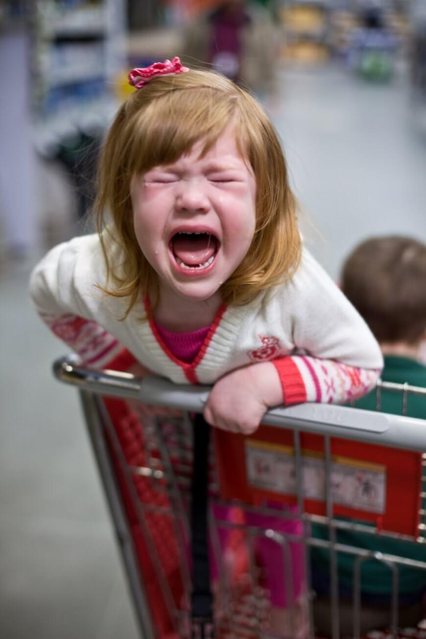 Мать накормила ребёнка в магазине и отказалась оплачивать